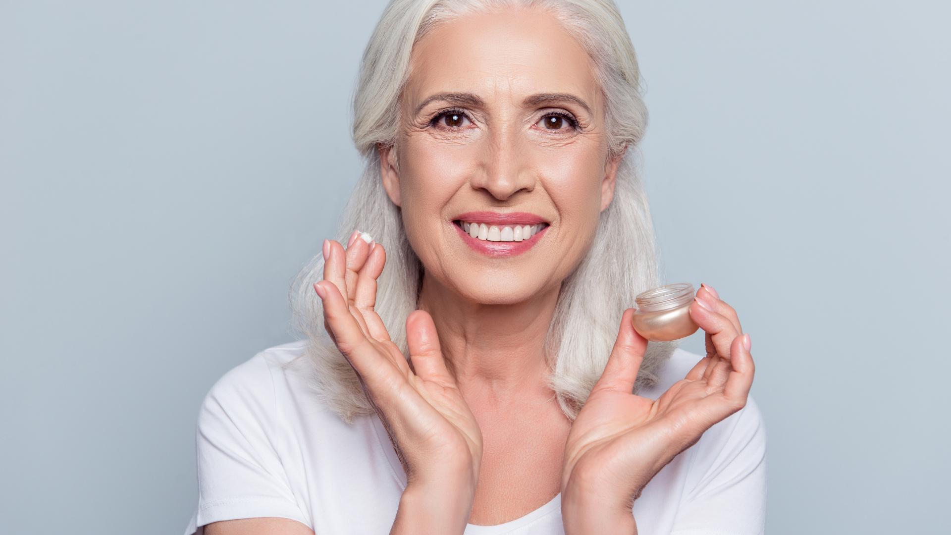 Beautiful Older Woman, Vitamin C Serum