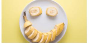 Smile Banana, good for me fruit, humbl banana